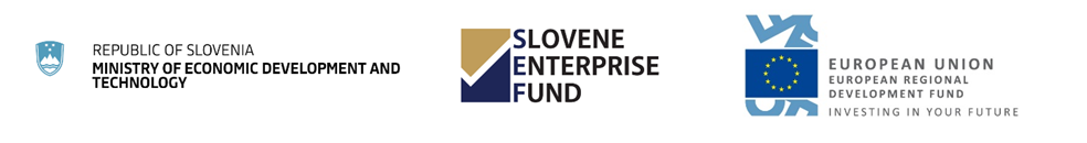 Republic of Slovenia, Slovene Enterprise Fund, European Union Logos